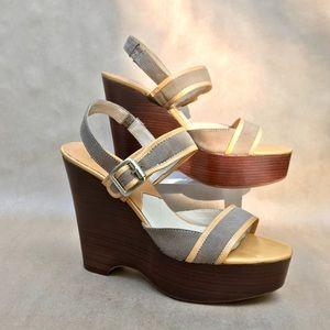 MICHAEL Michael Kors platform sandals, 9 M